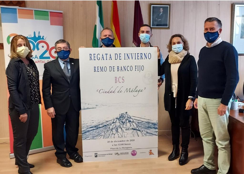regata de invierno banco fijo ciudad de Málaga
